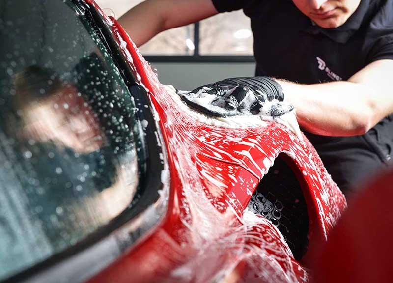 mycie samochodu w auto spa w olsztynie